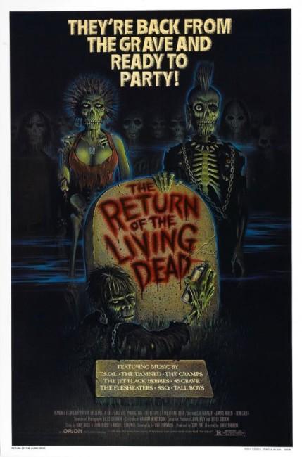 Return of the Living Dead (1985) poster