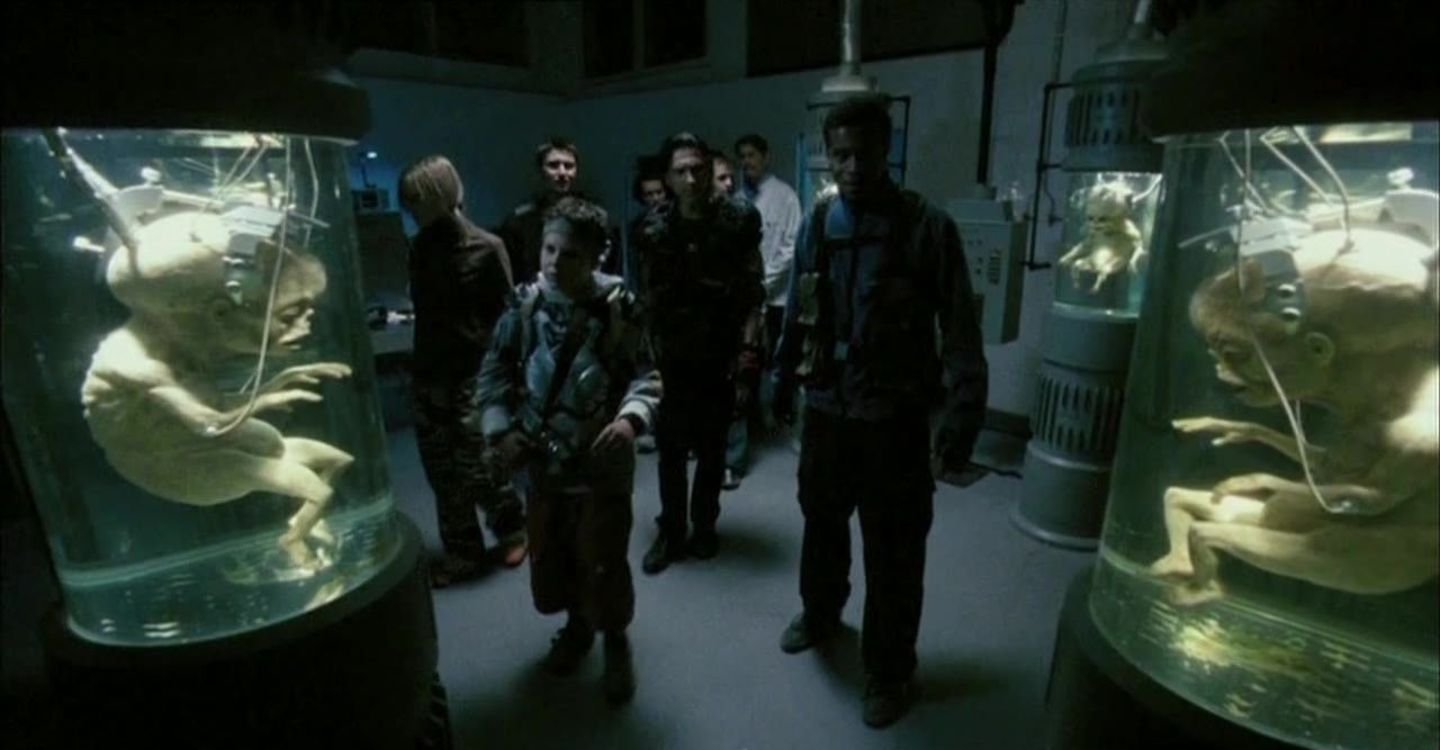Zombie experiments in Return of the Living Dead Necropolis (2005)