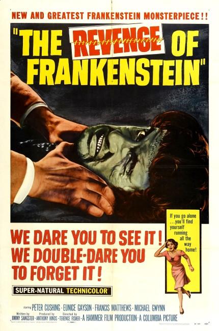 The Revenge of Frankenstein (1958) poster