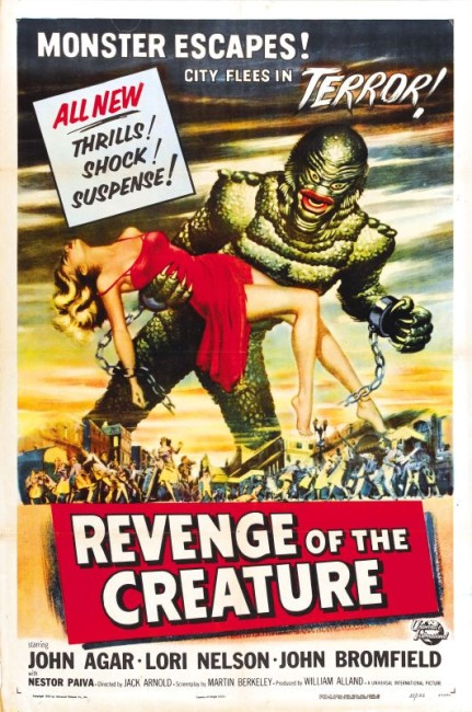 Revenge of the Creature (1955) poster