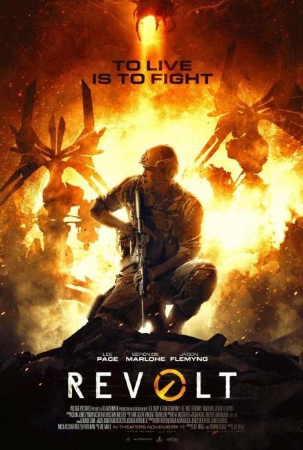 Revolt (2017) poster