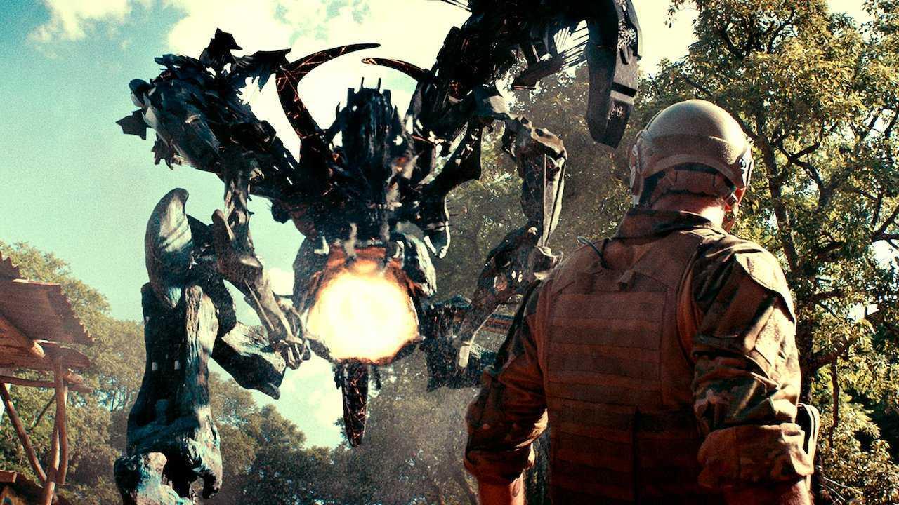 Alien robot from Revolt (2017)