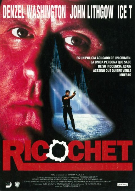 Ricochet (1991) poster
