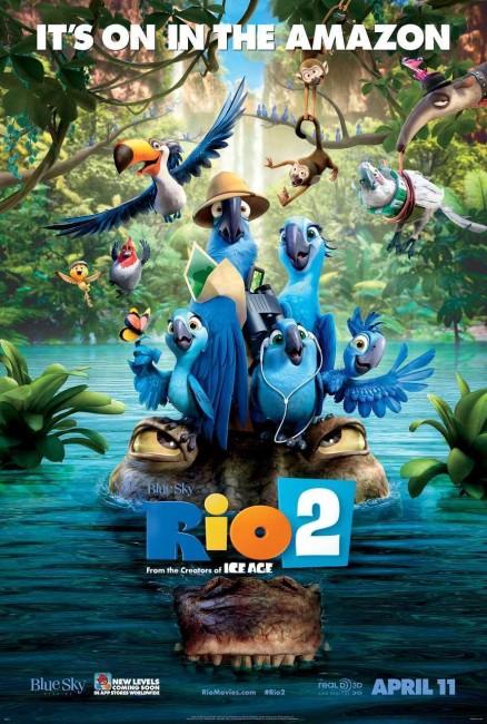 Rio 2 (2014) poster