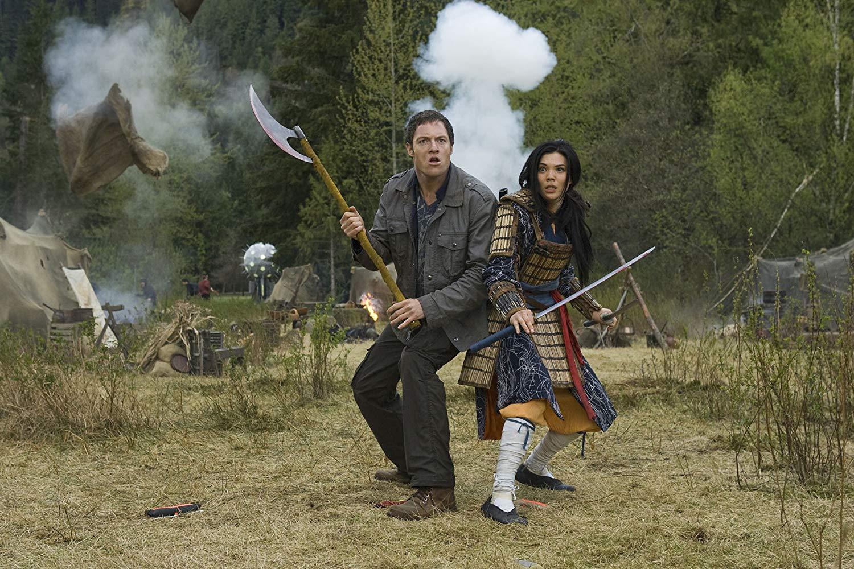 Tahmot Penikett) and Jeananne Goossen in Riverworld (2010)