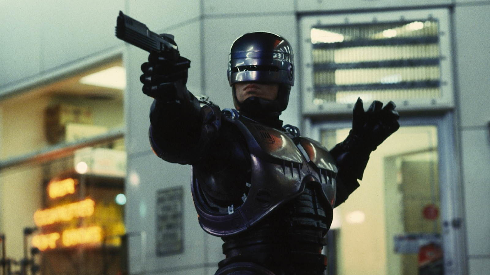 Peter Weller as Robocop (1987)