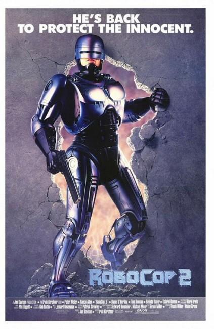 Robocop 2 (1990) poster