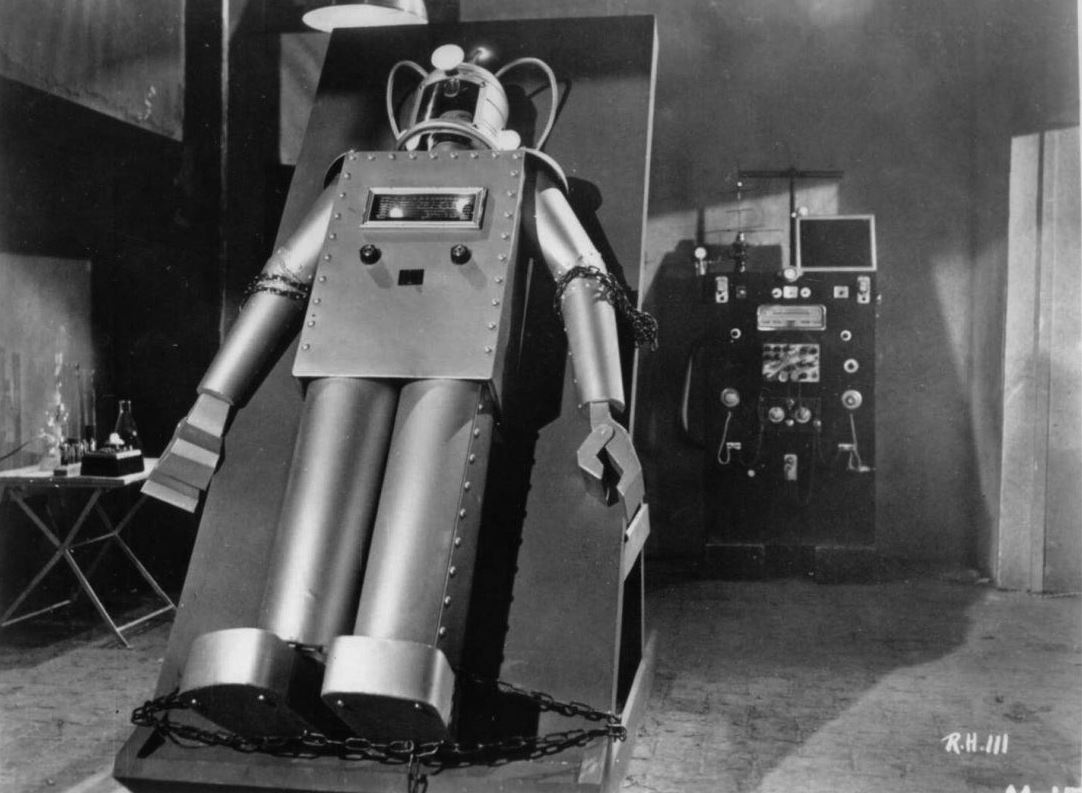 The Robot in Robot vs the Aztec Mummy (1958)
