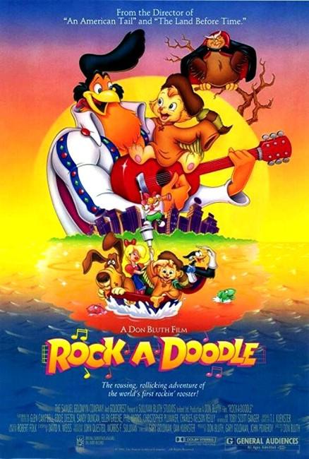 Rock-a-Doodle (1991) poster