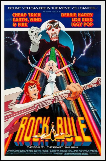Rock and Rule (1983) poster