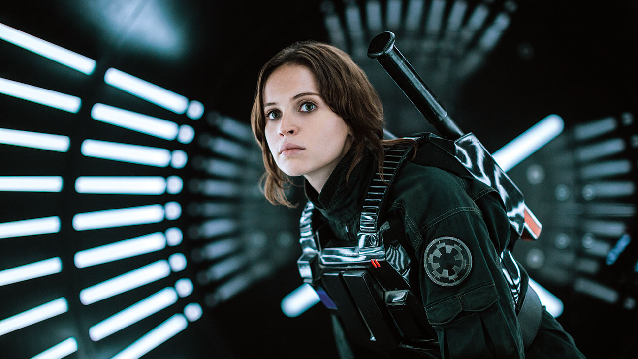 Jyn Erso (Felicity Jones) in Rogue One (2016)