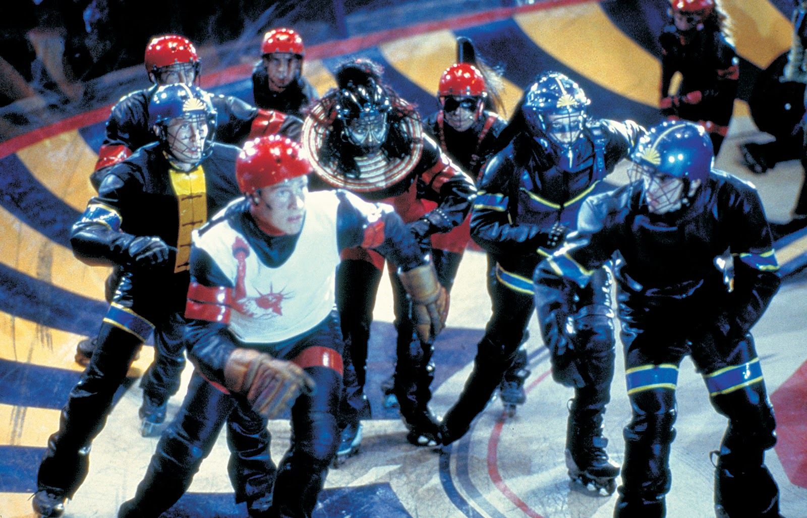 The Rollerball game in Rollerball (2002)