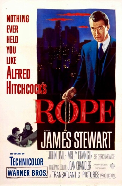 Rope (1948) poster