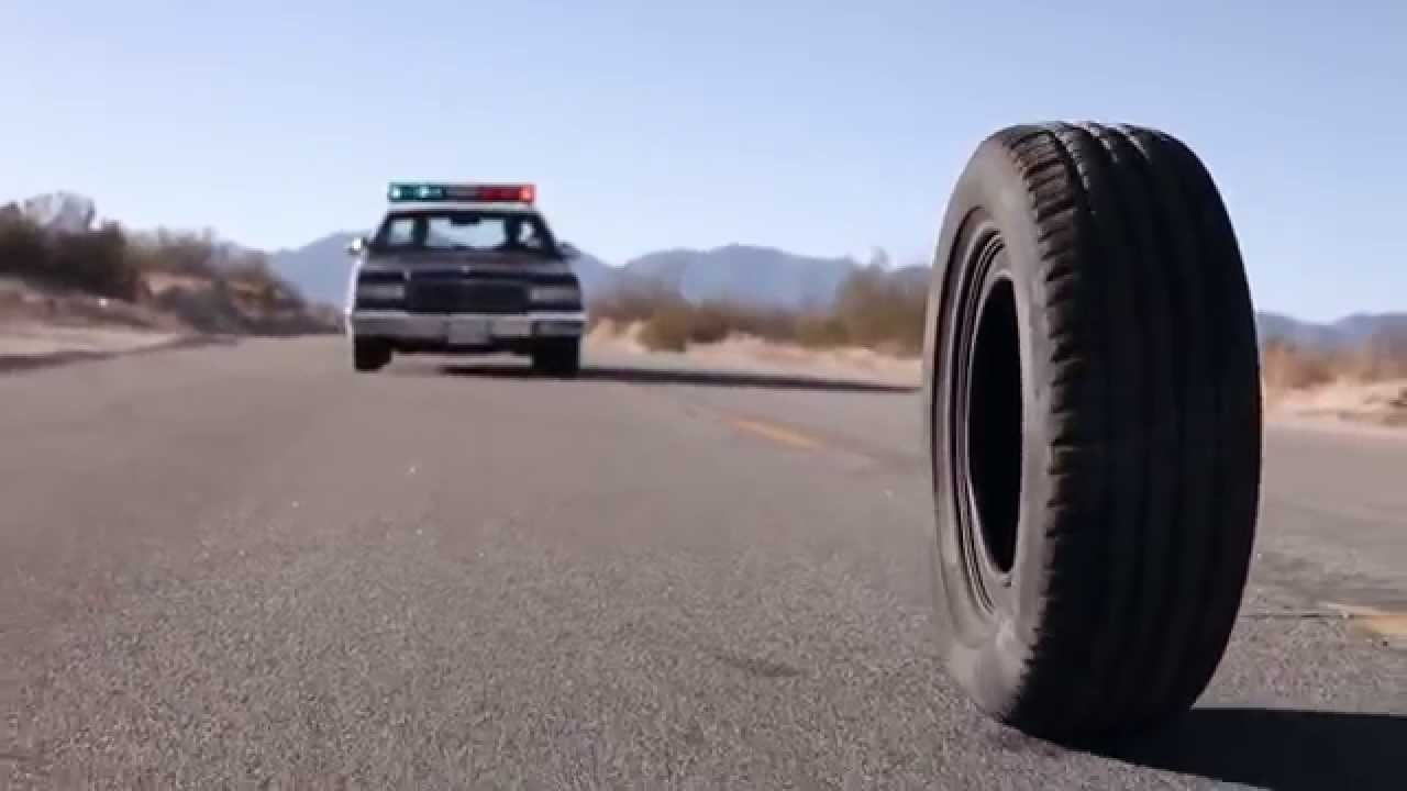 The killer tire in Rubber (2010)