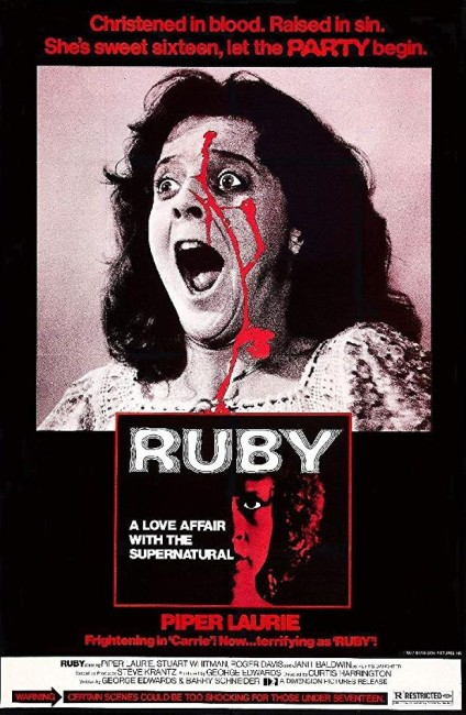 Ruby (1977) poster