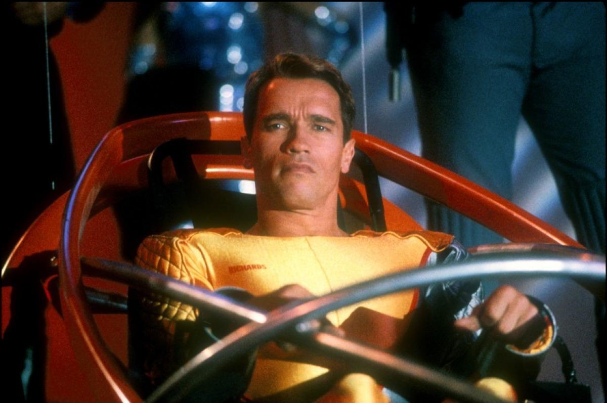 Ben Richards (Arnold Schwarzenegger) in The Running Man (1987)