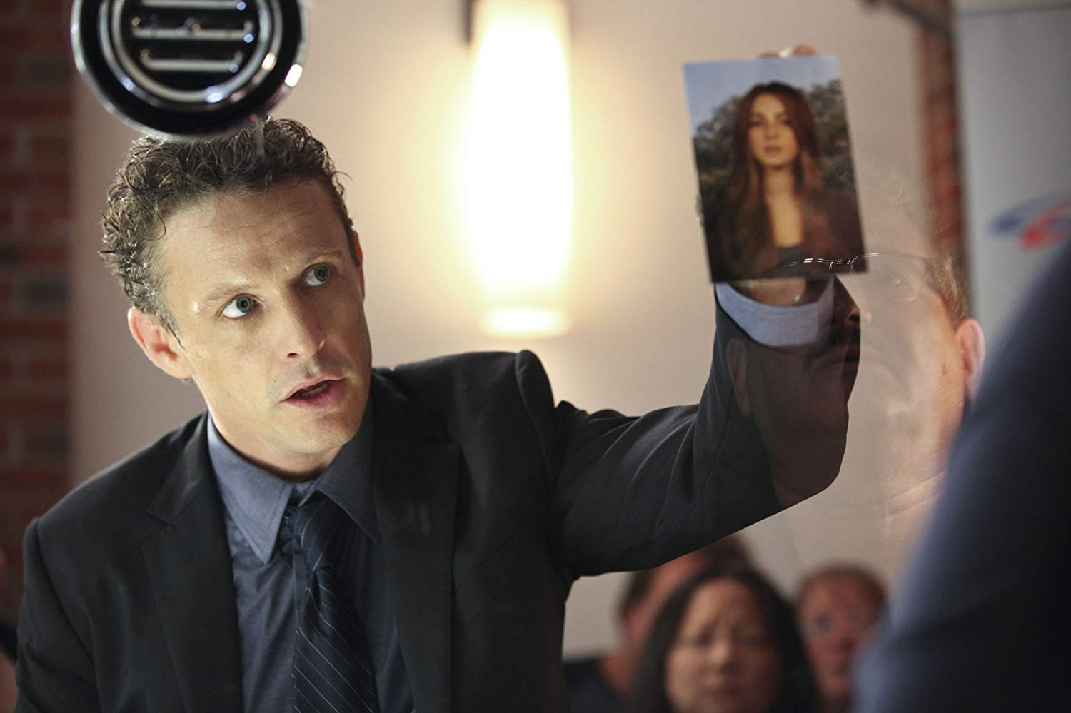 David Lyons as the pursuing psycho cop ex-husband in Safe Haven (2013)