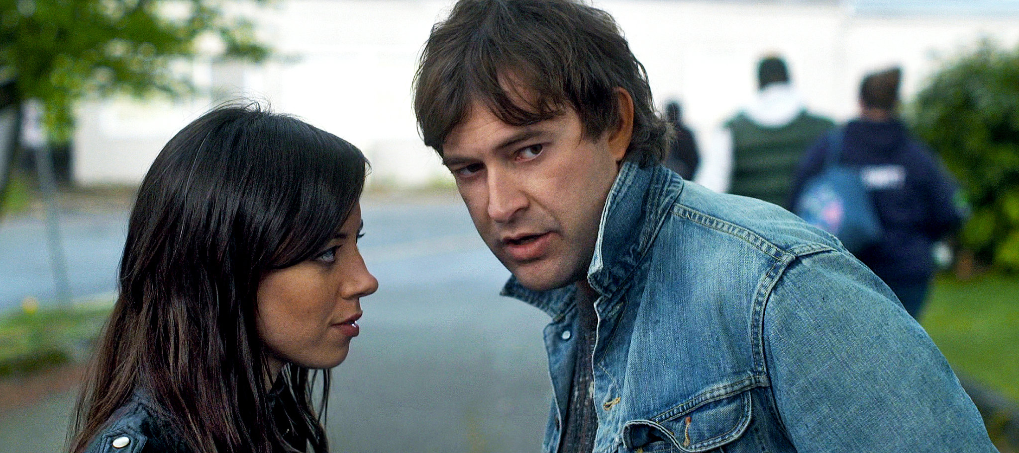 Aubrey Plaza and Mark Duplass in Safety Not Guaranteed (2012)