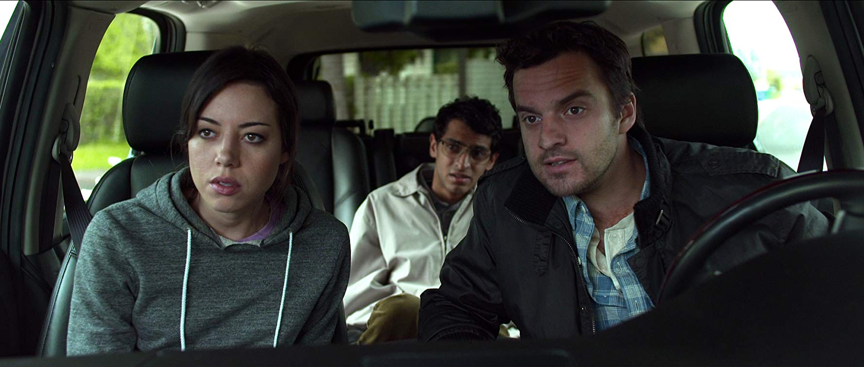 Aubrey Plaza, Karan Soni, Jake Johnson in Safety Not Guaranteed (2012)