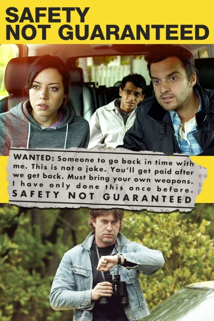 Safety Not Guaranteed (2012) poster
