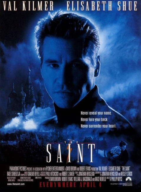 The Saint (1997) poster