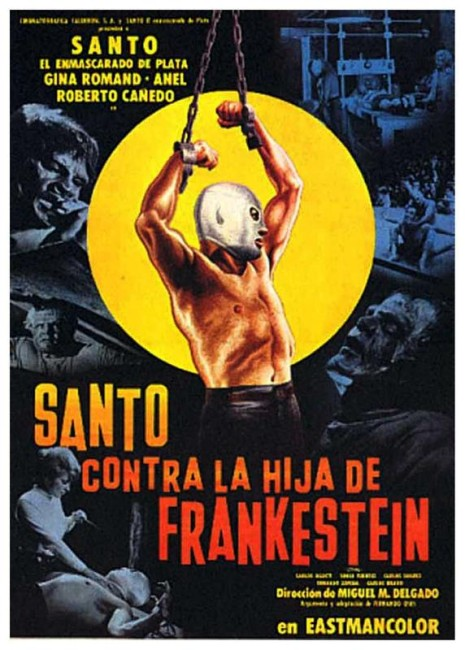 Santo vs Frankenstein's Daughter (1972) poster