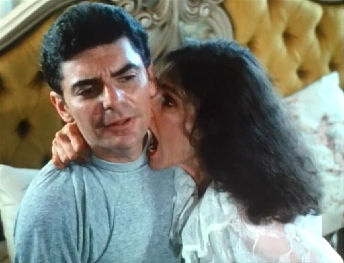 Richard Benjamin and wife Paula Prentiss in Saturday the 14th (1981)