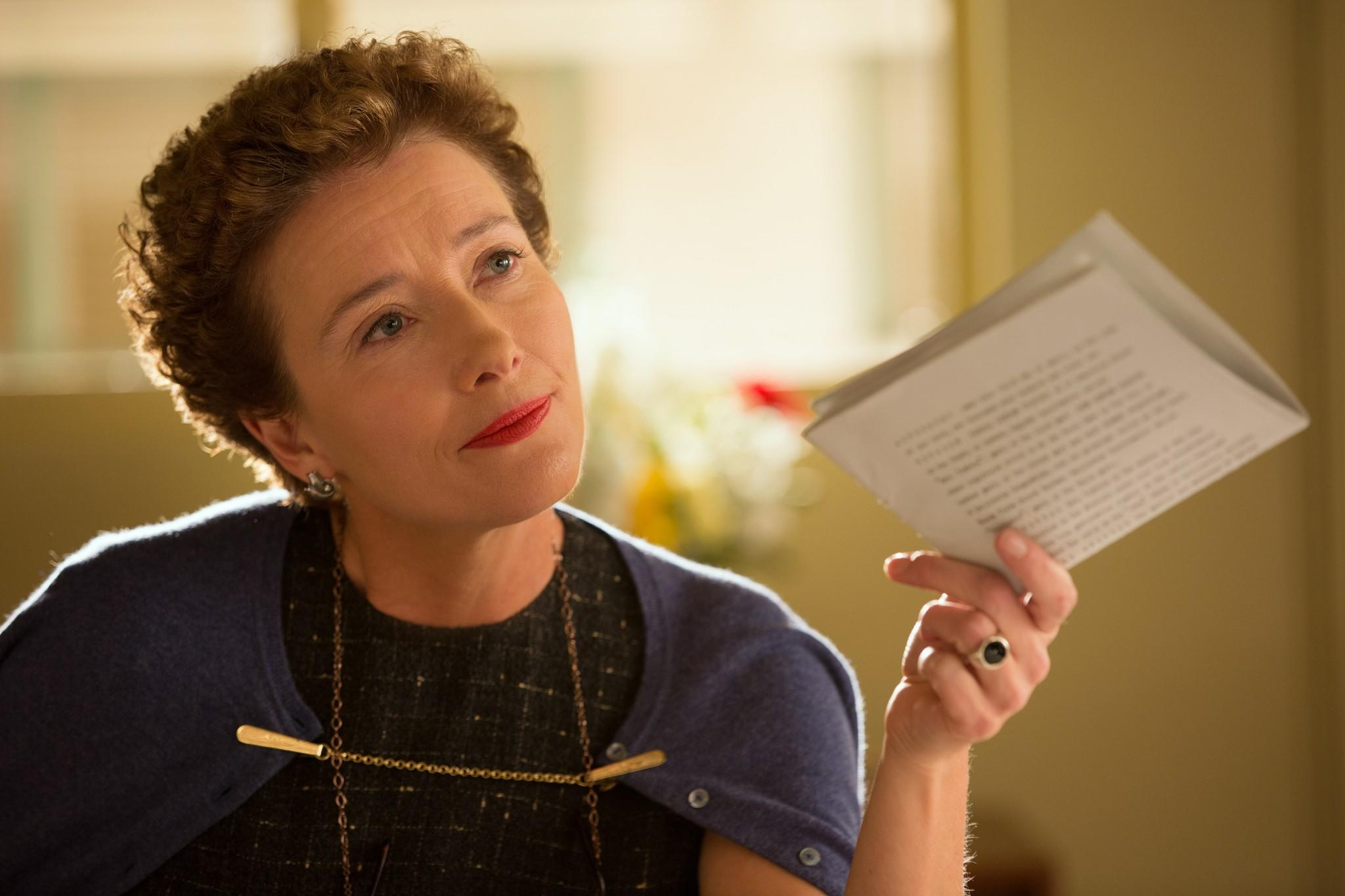 Emma Thompson as Mary Poppins creator P.L. Travers in Saving Mr Banks (2013)