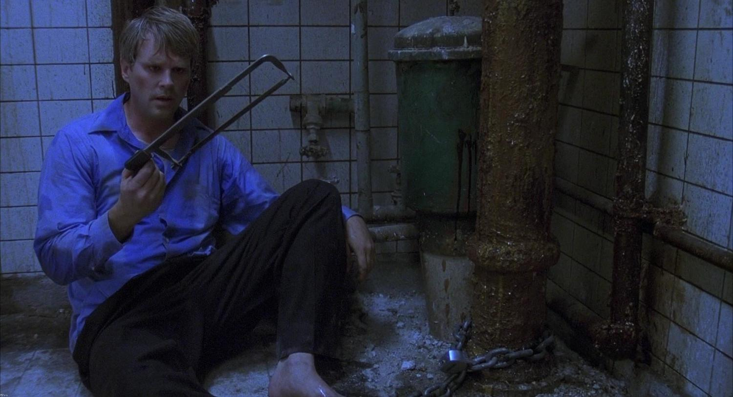 Cary Elwes forced to consider sawing off his foot in Saw (2004)