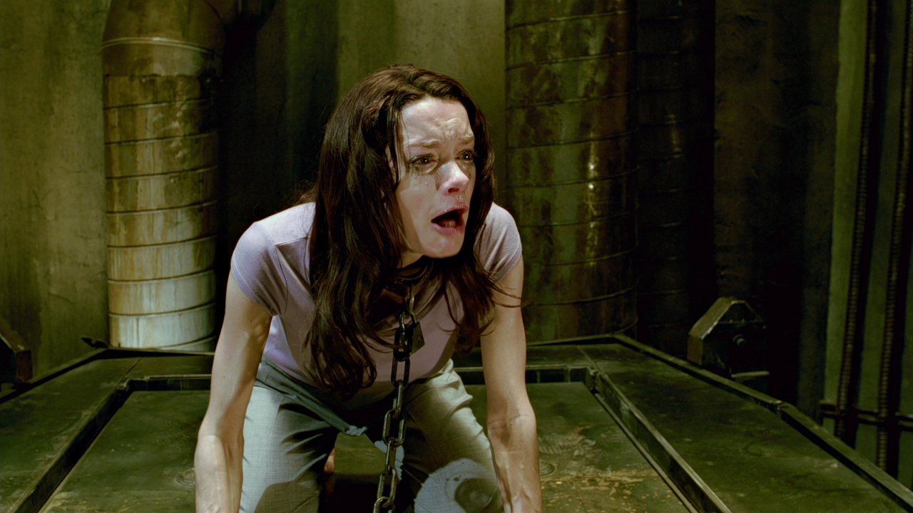 A tortured Gina Holden in Saw 3D (2010)