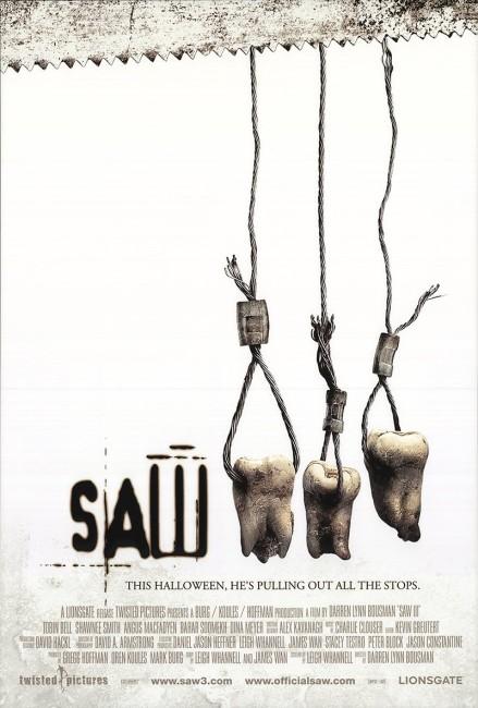 Saw III (2006) poster