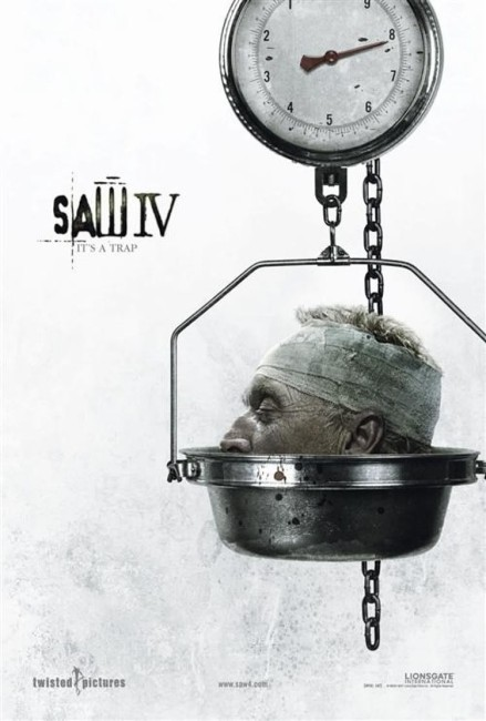 Saw IV (2007) poster