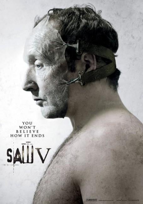 Saw V (2008) poster
