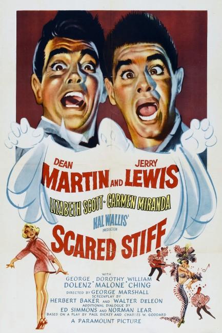 Scared Stiff (1953) poster