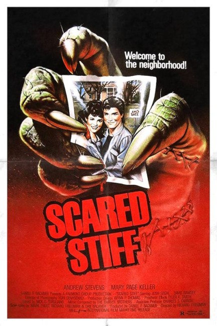 Scared Stiff (1987) poster