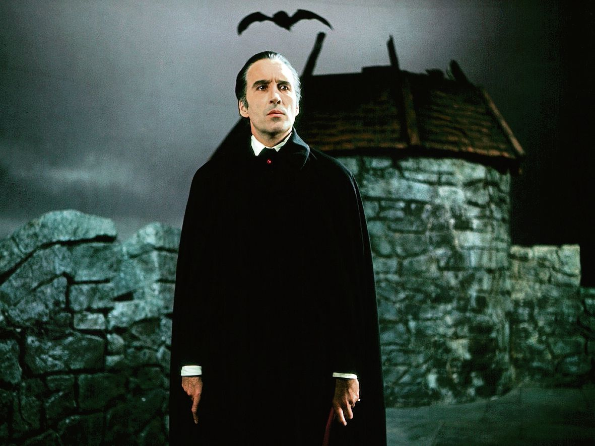 Christopher Lee as Dracula in Scars of Dracula (1970)