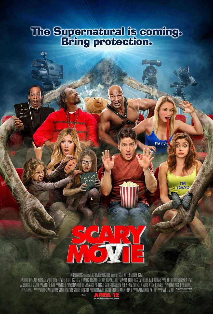 Scary MoVie (2013) poster