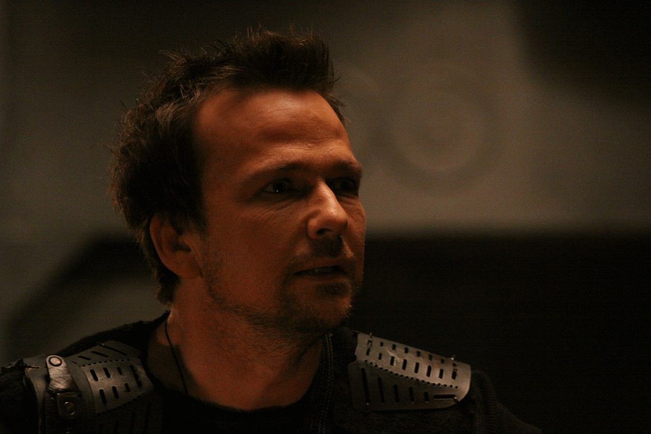 Sean Patrick Flanery as Captain Jekel in Scavengers (2013)
