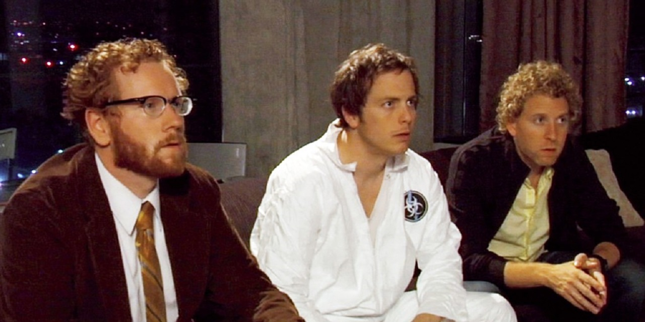 Todd Berger, Blaise Miller and Jeff Grace in The Scenesters (2009)