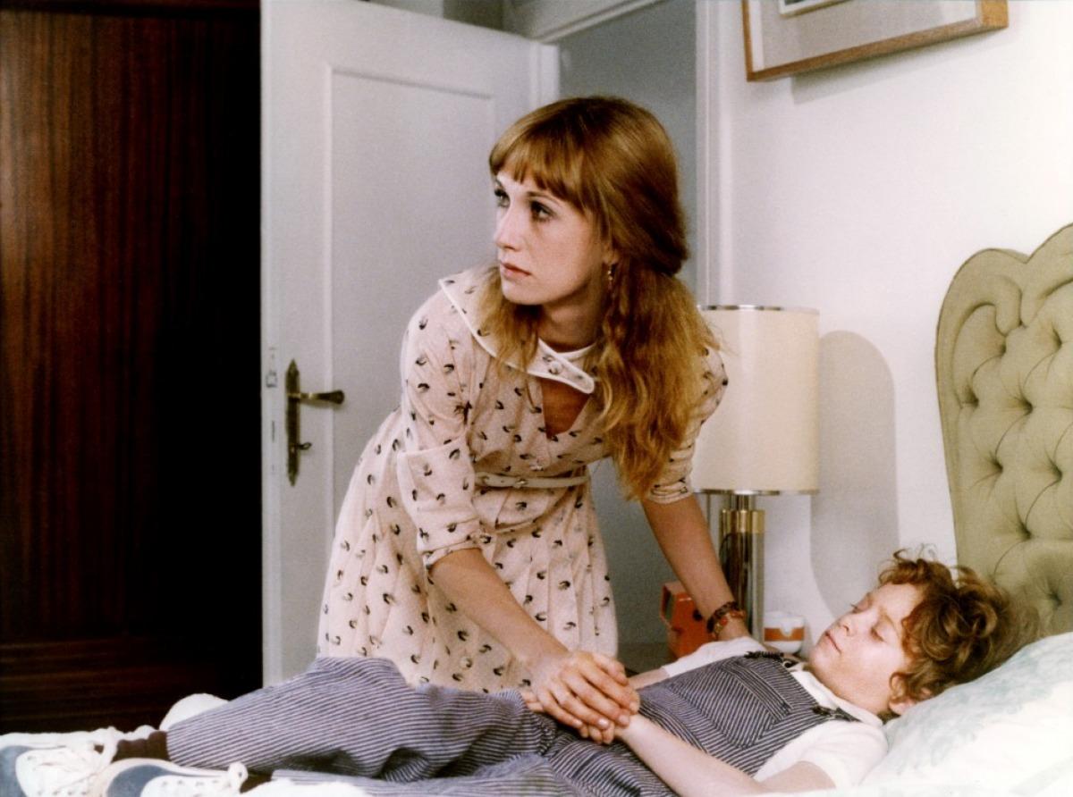 Daria Nicolodi and son David Colin Jr in Schock (1977)