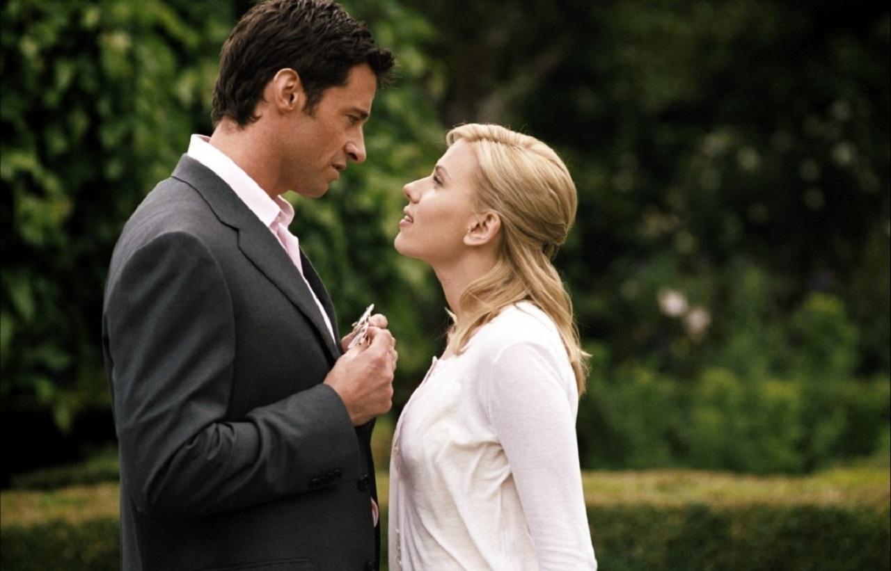 Scarlett Johansson and Hugh Jackman in Scoop (2006)