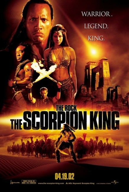The Scorpion King (2002) poster