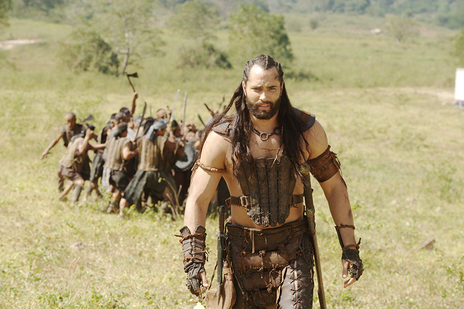Victor Webster inherits the role of Mathayus in The Scorpion King 3: Battle for Redemption (2012)