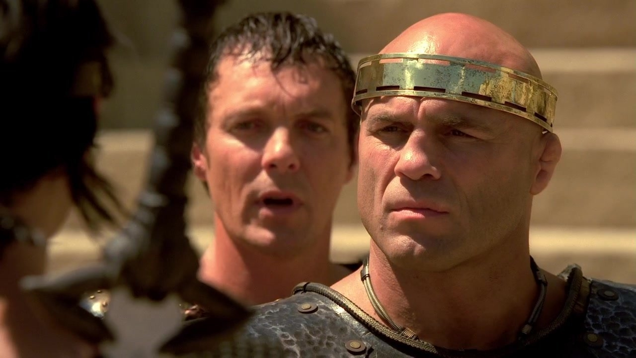 Randy Couture as King Sargon in The Scorpion King: Rise of a Warrior (2008)