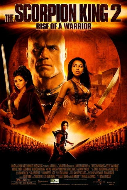 The Scorpion King: Rise of a Warrior (2008) poster