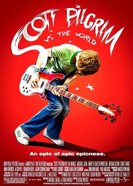 Scott Pilgrim vs. the World (2010) poster