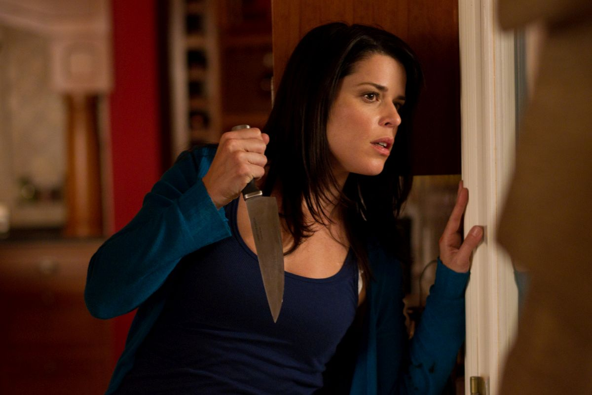 Sidney Prescott (Neve Campbell) in Scre4m (2011)