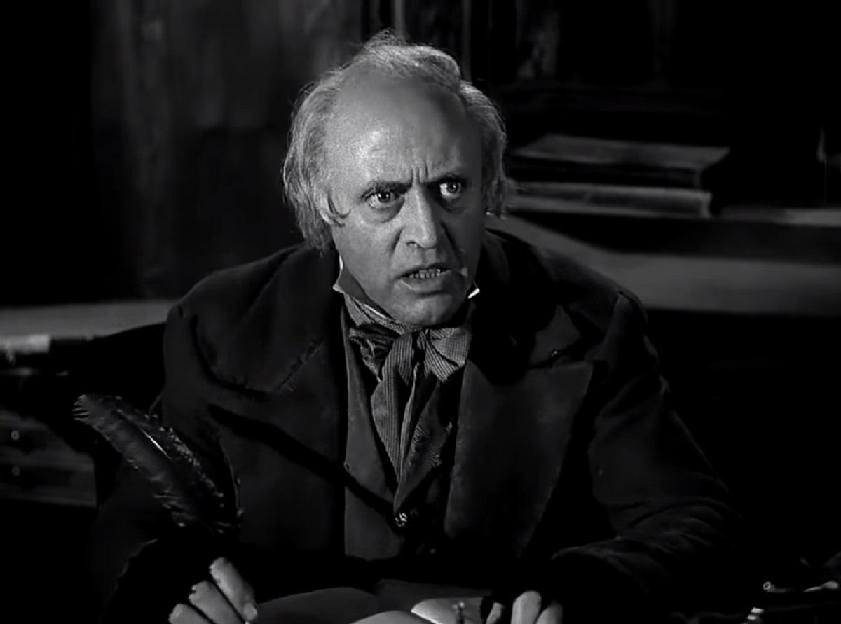 Alistair Sim as Scrooge (1951)