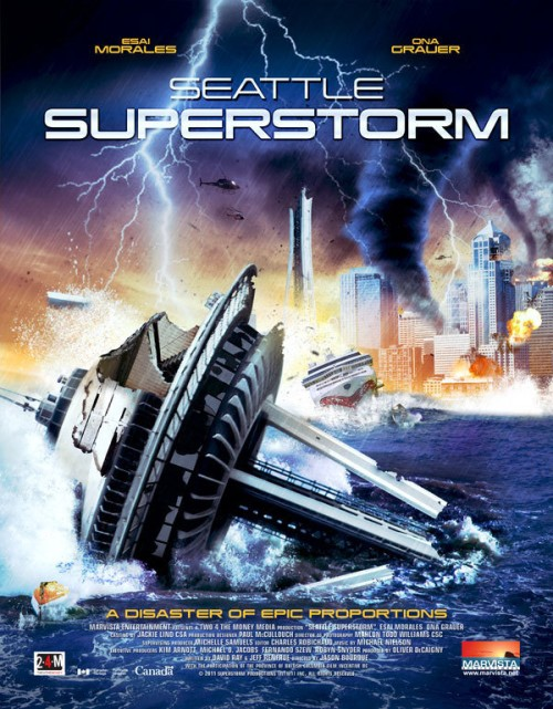 Seattle Super Storm (2012) poster