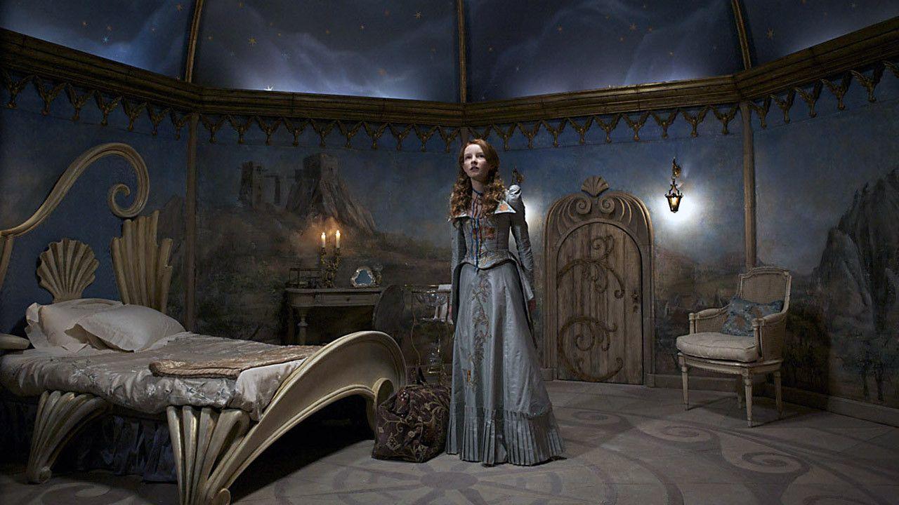 Dakota Blue Richards in her room in The Secret of Moonacre (2008)